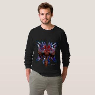 Le sweatshirt raglan des hommes rouges tribaux de