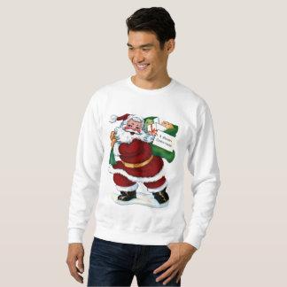 Le sweatshirt vintage des hommes de vacances de
