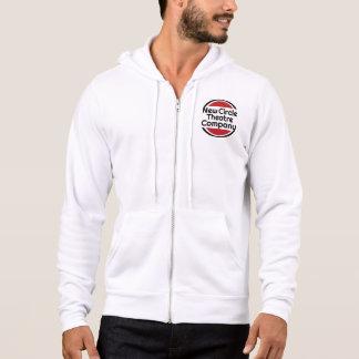 Le sweatshirt zippered des hommes avec le logo