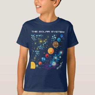 Le système solaire t-shirt