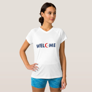 le t des femmes bienvenues t-shirt