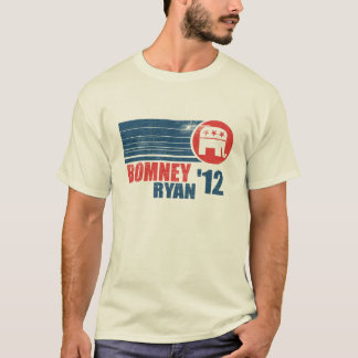 Le T-shirt 2012 des hommes de cru de Romney Ryan