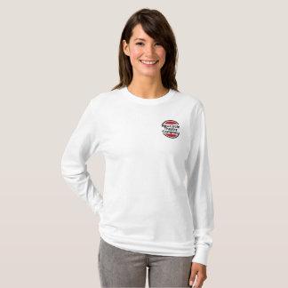 Le T-shirt à manches longues des femmes avec le