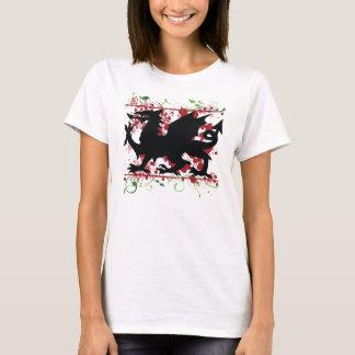 Le T-shirt adapté de Ladie de dragon de Gallois