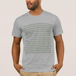 Le T-shirt adapté de rayure des hommes Amara de