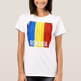 Le T-shirt adapté des femmes de drapeau de pays de