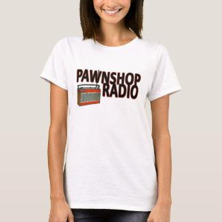 Le T-shirt adapté des femmes par radio de mont de