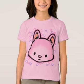 Le T-shirt amical du coeur de miel