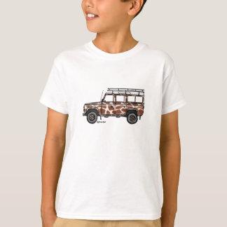 Le T-shirt avec Defender stoere dans le giraffe