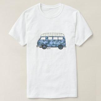 Le T-shirt avec Renault Estafette dans bleu