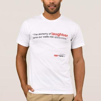 Le T-shirt blanc des hommes plus pluvieux de TEDx