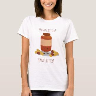 Le T-shirt d'arachide de beurre des femmes