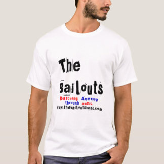 Le T-shirt de bande de renflouements