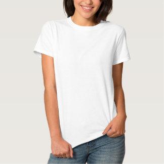 Le T-shirt de base brodé des femmes Polo Brodé Femme