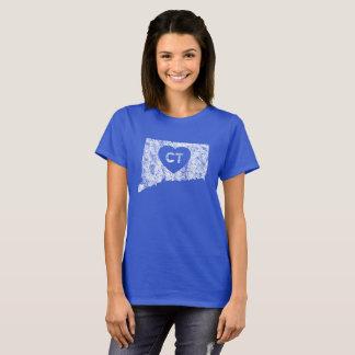 Le T-shirt de base d'amour du Connecticut des