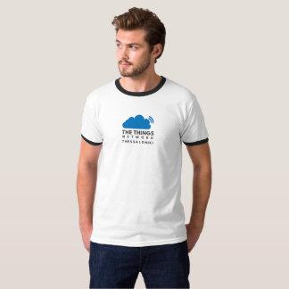 Le T-shirt de base de la sonnerie des hommes du