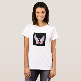 Le T-shirt de base des femmes d'ange