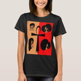 Le T-shirt de base des femmes d'Ankh d'Egyptien