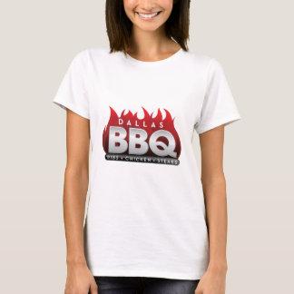 Le T-shirt de base des femmes de BBQ de Dallas