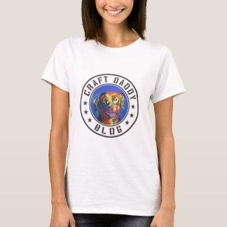 Le T-shirt de base des femmes de logo de blog de