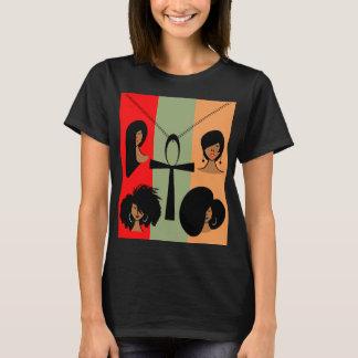 Le T-shirt de base des femmes égyptiennes d'Ankh