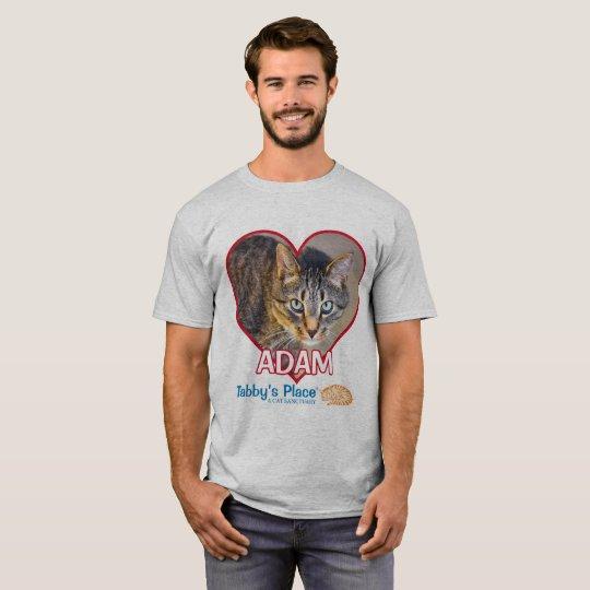 Le T-shirt de base des hommes - Adam