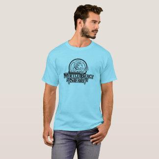 Le T-shirt de base des hommes - BLEU