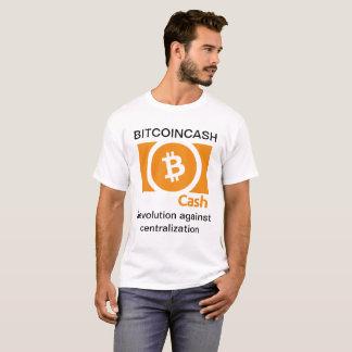 Le T-shirt de base des hommes de Bitcoincash