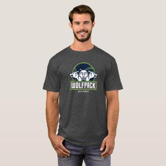 Le T-shirt de base des hommes de WolfPack