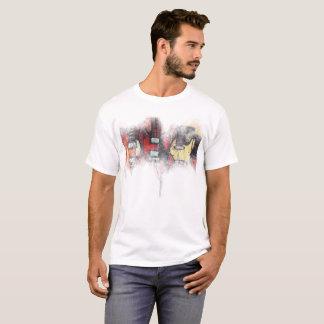 Le T-shirt de base des hommes, fièvre de guitare