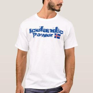 Le T-shirt de base des hommes islandais de
