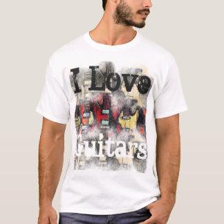 Le T-shirt de base des hommes, J'AIME DES GUITARES