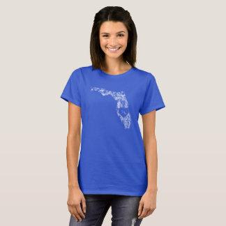 Le T-shirt de base d'I d'amour de la Floride des