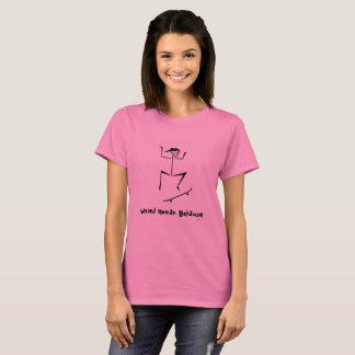 Le T-shirt de comportement humain de femmes