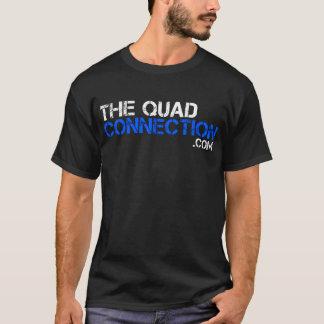 Le T-shirt de connexion de quadruple