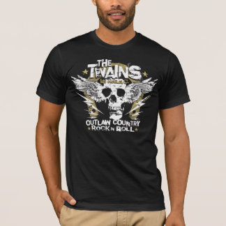 Le T-shirt de fer à cheval de n de crâne de TWAINS