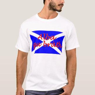 """Le T-shirt de GU des hommes de base """"alba de"""