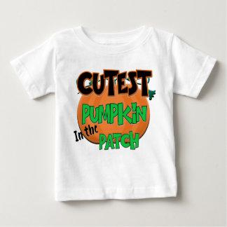 Le T-shirt de Halloween de bébé de citrouille le