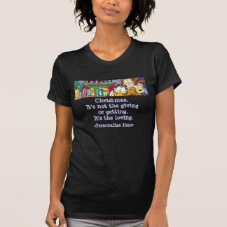 Le T-shirt de la femme affectueuse de vacances de