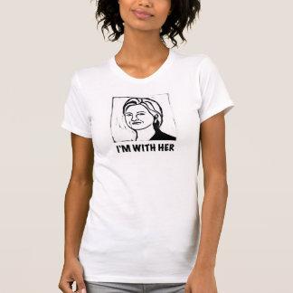 Le T-shirt de la femme de Hillary Clinton