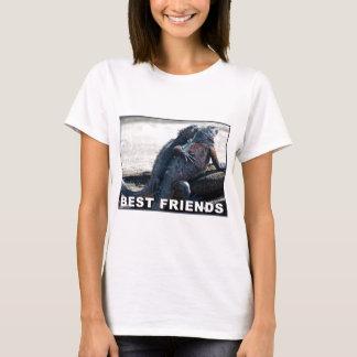 Le T-shirt de la femme de meilleurs amis