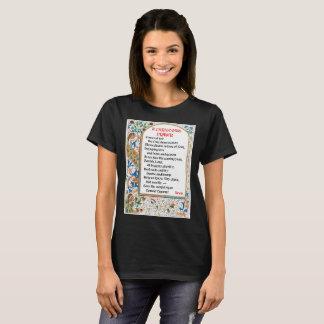 Le T-shirt de la femme de prière de Noël (Donald