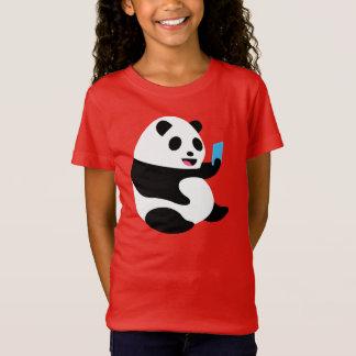 """Le T-shirt de la fille : """"Panda de Selfie """""""