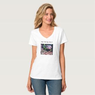 Le T-shirt de la science-fiction des femmes