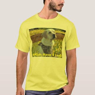 Le T-shirt de labrador retriever mes enfants ont 4