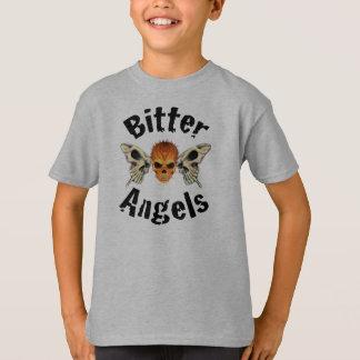 Le T-shirt de l'enfant amer d'anges