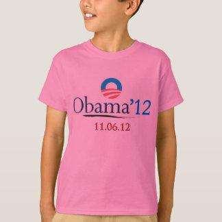 Le T-shirt de l'enfant classique d'Obama 2012