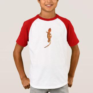 Le T-shirt de l'enfant crêté de Gecko
