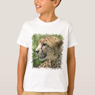 Le T-shirt de l'enfant d'attaque de guépard
