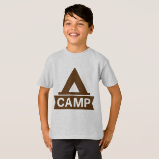 Le T-shirt de l'enfant de camp